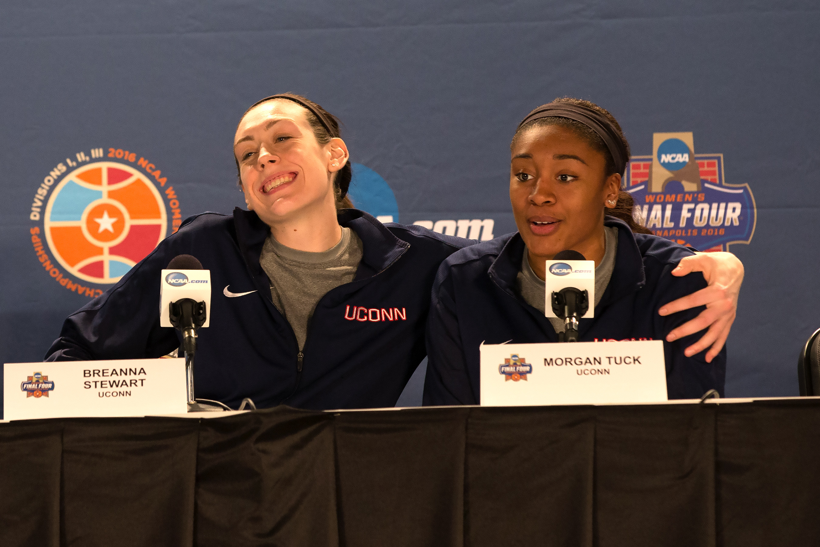 5b63348cd9d Breanna Stewart and Morgan Tuck have been nominated for the NCAA Woman of  the Year Award