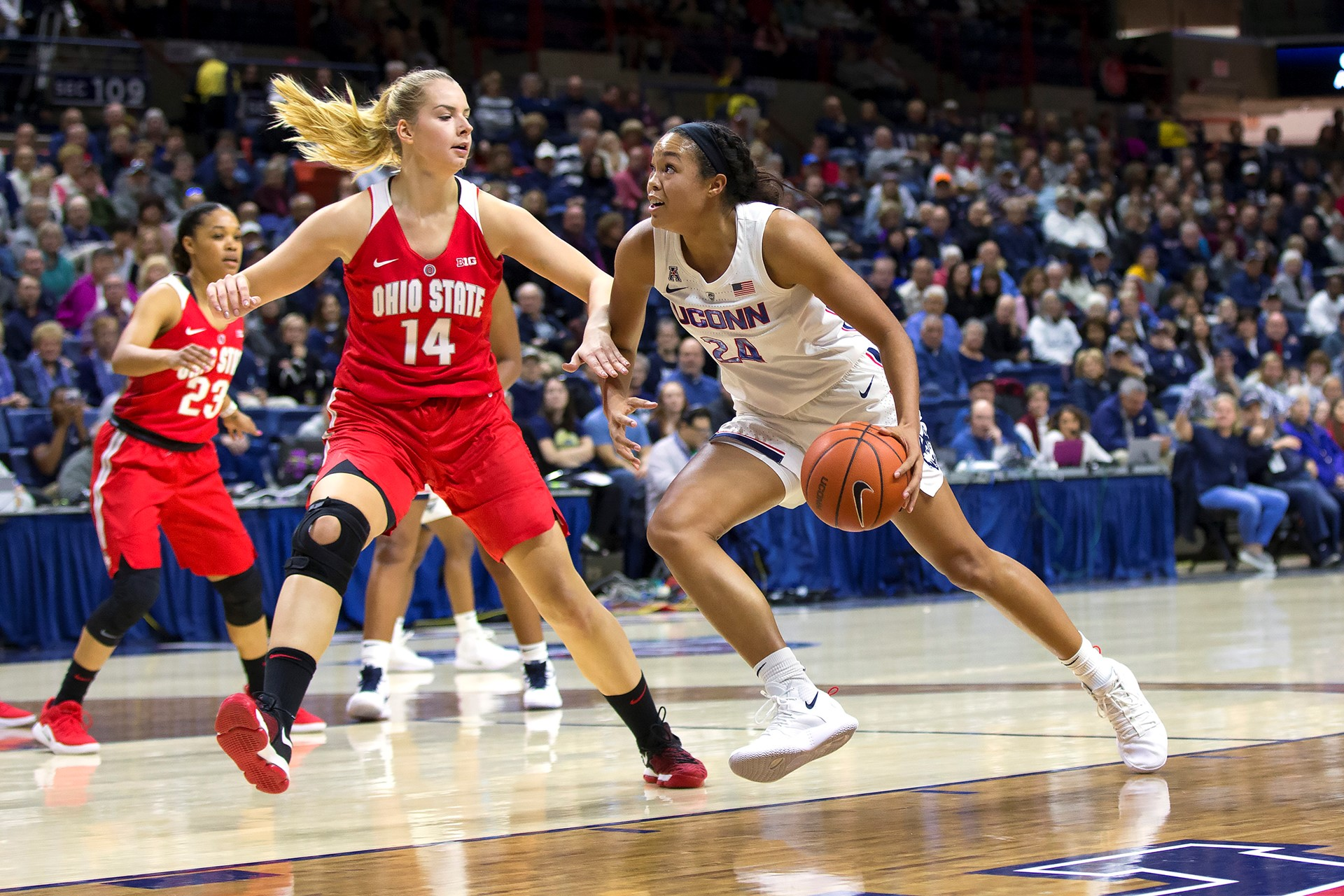 4eed6490d63 UConn Trio Named to Naismith Watch List - University of Connecticut ...