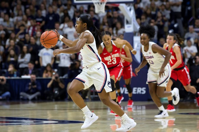 aeff5cc42f1 2 UConn Hosts SCSU in Hartford for Final Tune-Up - University of Connecticut  Athletics