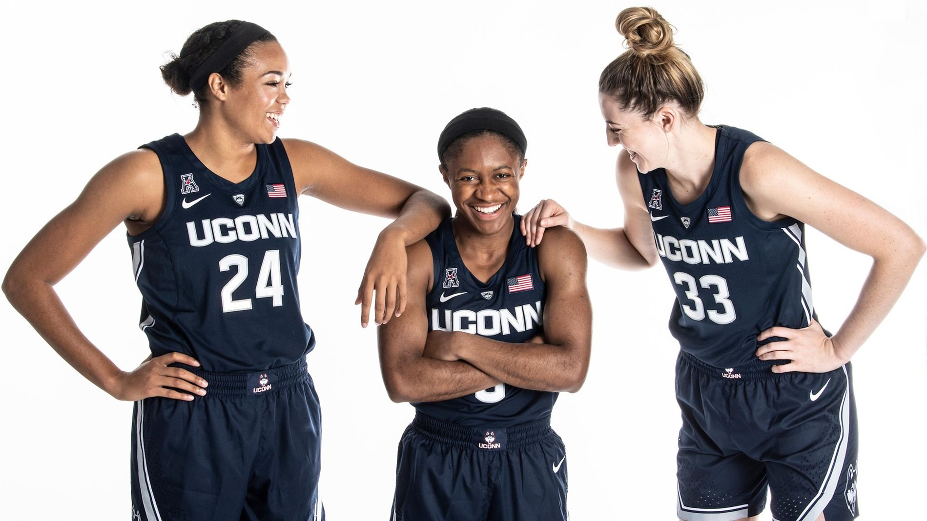 reputable site 5cbd1 d4a96 UConn Trio Named to Wooden Midseason Top 25 - University of ...