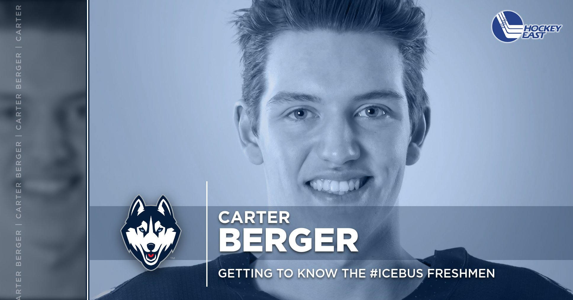 Getting to Know the #IceBus Freshmen: Carter Berger