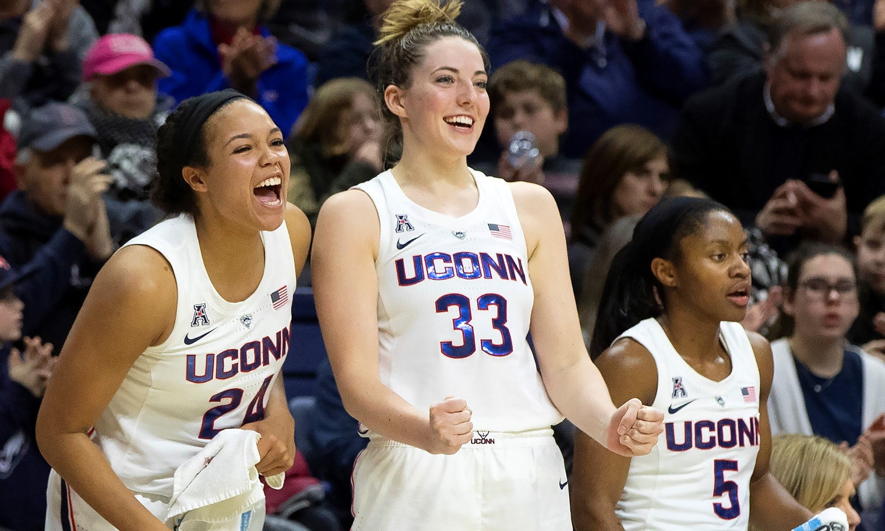 4c235225d61 UConn Trio Named to Wooden Late Season Top 20 - University of ...