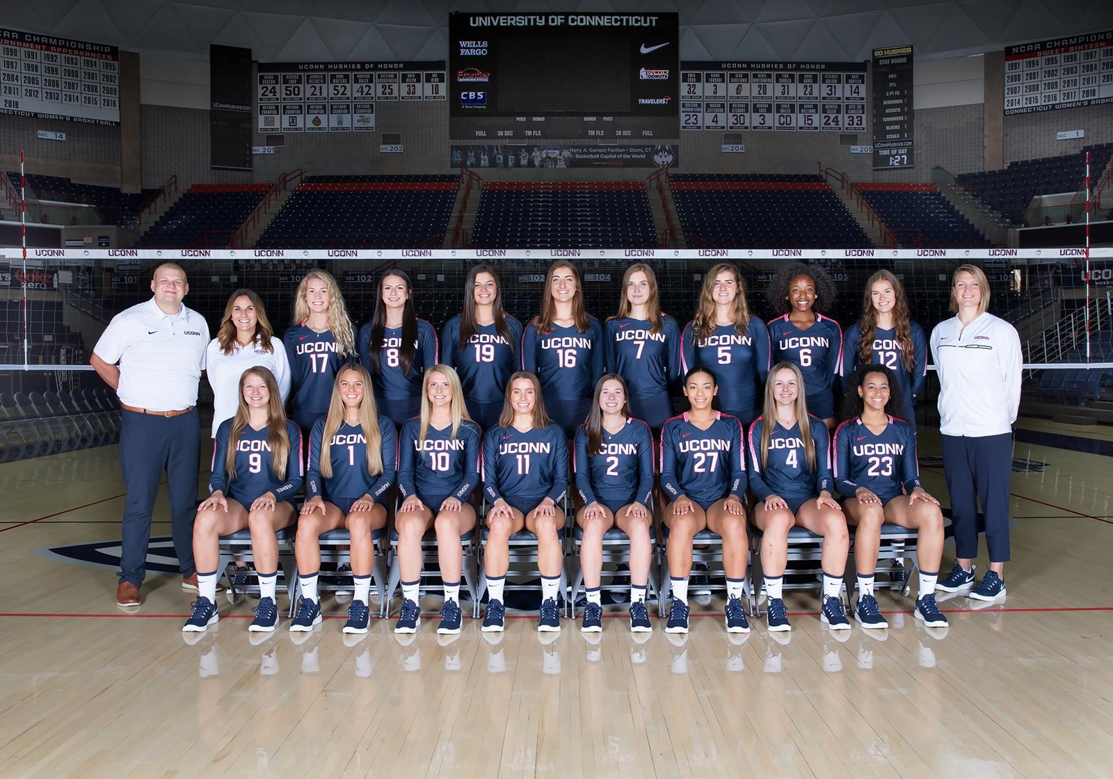2019 Women S Volleyball Roster University Of Connecticut Athletics