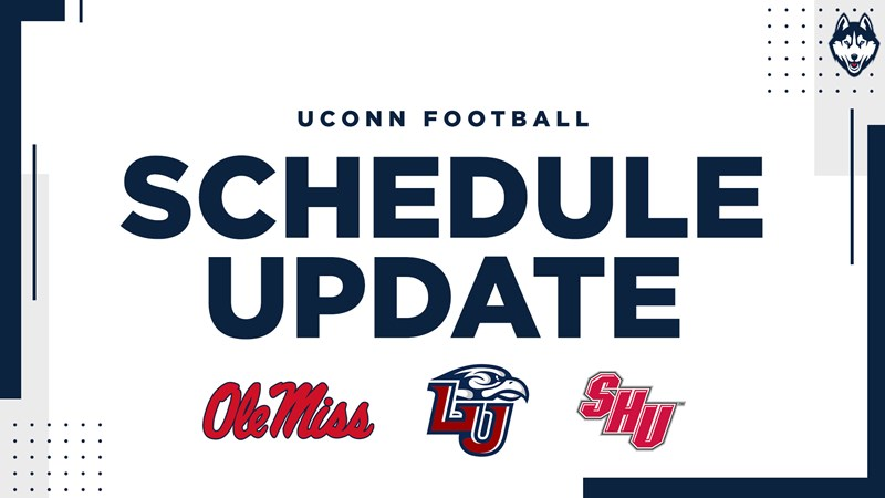 Uconn Calendar Spring 2022.Football Adds Games Against Ole Miss Sacred Heart And Liberty To Future Schedule University Of Connecticut Athletics