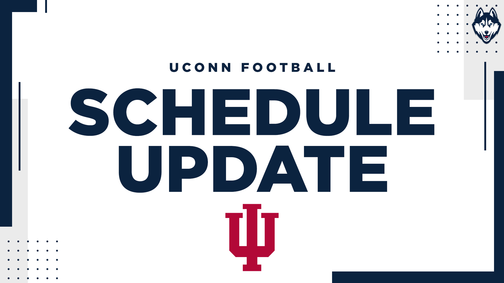 Uconn Calendar Spring 2022.Uconn Football Reschedules Home Game With Indiana University Of Connecticut Athletics
