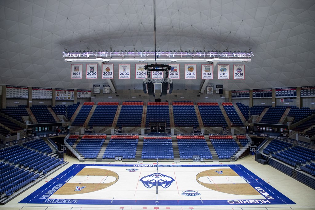 Gampel And Sherman Undergoing Upgrades This Summer University Of Connecticut Athletics